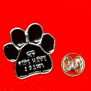 My Kids Have 4 Paws Pin Brooch